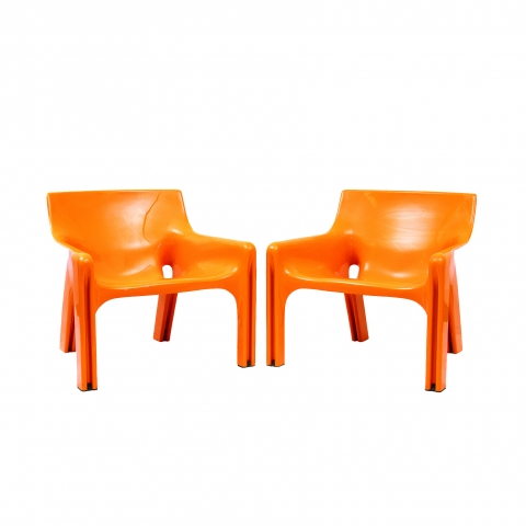Vico Magistretti-Vicario-Chairs