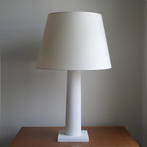 Jean-Michel-Frank-White-Column-Lamp