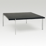 Poul Kjaerholm, PK61, Coffee table with a slate top
