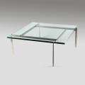 Poul Kjaerholm, PK61, Table basse à plateau en verre