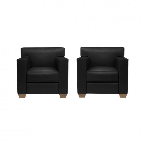 Jean-Michel Frank & Hermès. Très belle paire de fauteuils