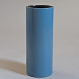 Georges Jouve, A great blue «Cylinder» vase