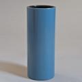 Georges Jouve, Grand vase «Cylindre» bleu