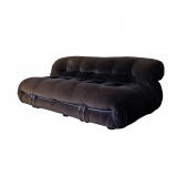 Afra & Tobia Scarpa, Soriana, A beautiful two-seater sofa